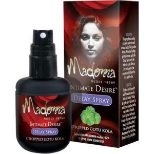Madonna Delay Spray Chopped Gotu Kola