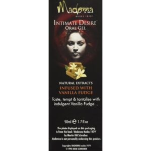 Madonna Oral Gel Infused with Vanila Fudge