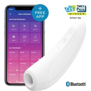 Satisfyer Curvy 1+ met App - Wit